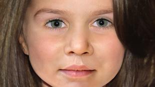 Így nézhet ki kislányként Charlotte hercegnő