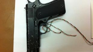 Airsoft pisztollyal akart rabolni