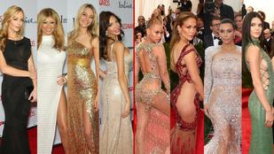 A celebnőkön már kevesebb a ruha, mint a pornósokon
