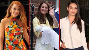 Nők, akik felháborítóan jól néznek ki a szülés után