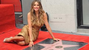 A lábfetisiszták biztosan örülni fognak annak, hogy Sofía Vergara csillagot kapott