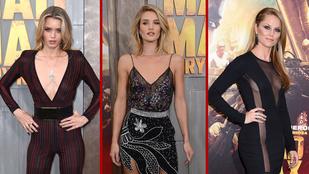 Melltartó nélkül mentek a nők az új Mad Max bemutatójára