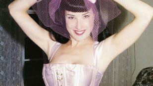 Dita Von Teese 20 éve megállt az öregedésben