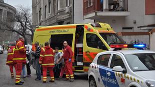 Még mindig kórházban van a zuglói robbanásban megsérült kisfiú