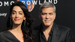 Amal Clooney még mindig mesésen néz ki