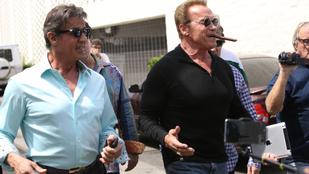 Stallone és Schwarzenegger együtt ebédeltek, aztán történt valami