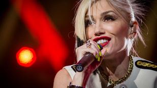 Gwen Stefani vicces arcokat vágott, aztán majdnem kiesett a melle