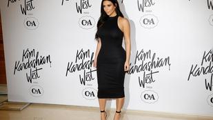 Kim Kardashian a C&A-nak tervez ruhákat