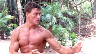 Jean-Claude Van Damme még mindig tudja a táncot a Kickboxerből