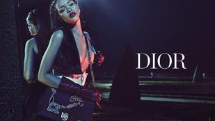 Mellközével népszerűsíti a Diort Rihanna