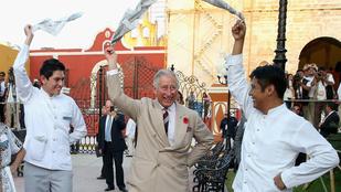 Károly herceg is tud ciki apuka lenni, ha akar