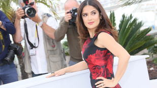 Salma Hayek akkorát lázadt a Cannes-i filmfesztiválon, hogy csak na