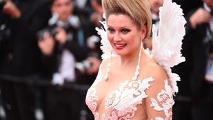 Nincsenek szavak ennek a színésznőnek a hajára