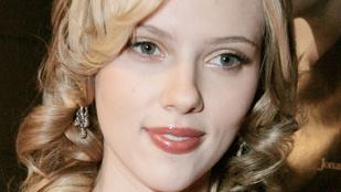 Így még biztosan nem látta Scarlett Johanssont!