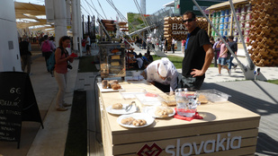 Nem fogja kitalálni, mi a szlovákok nemzeti étele az Expón