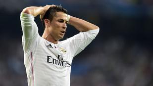 A nap legcukibb apukája Cristiano Ronaldo