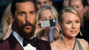 Naomi Watts mesés, Matthew McConaughey nagyon szakállas volt Cannes-ban