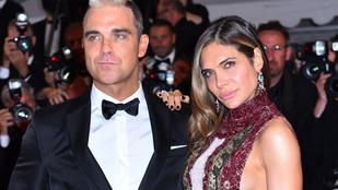 Robbie Williamsnél senki sem nézhet ki rosszabbul a vörös szőnyegen