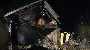 Szándékosan robbanthatták fel a szolnoki házat
