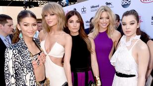 Taylor Swift annyira jó fej, hogy fél Hollywooddal jóban van