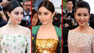 Cannes leggyönyörűbb kínai színésznőinek nemcsak a nevük hasonló