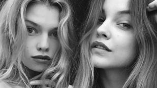 Palvin a modell barátnőjével félmeztelenkedett