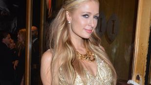 Paris Hiltonnak egy cannes-i buliban kilógott a bugyija