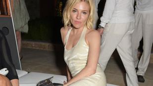 Sienna Miller részeg fesztiválozónak nézett ki Cannes-ban