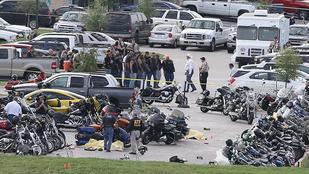Parkolóhely miatt ölhették halomra egymást a texasi motorosok
