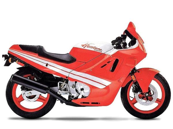 Honda CBR600F a 80-as évek végéről