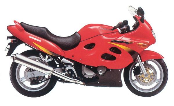 Suzuki GSX600F a 90-es évek végéről