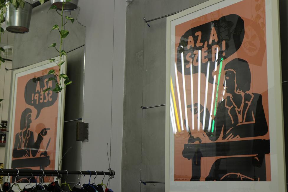 Király András a Magyar Művészeti Akadémia (MMA) és Fekete György 2012-es helyzetbe kerülése óta rajzolja grafikáit. A jobboldali kultúrpolitikai szereplőket és szituációkat kifigurázó, egyben a politikai plakát műfaját használó alkotó a Magyar utcai Lollipop Factoryban állítja ki a kezdetben álnéven közölt képeket.Az alkotó eredeti szándéka szerint az interaktív, színezhető plakátinstallációt a Károlyi kert kerítésére rögzítette volna - hogy ez miért nem így lett, arról olvassák el a kiállítás részeként hozzáférhető levelezést az önkormányzattal.Helyszín:  Lollipop Factory 1051 Budapest, Magyar utca 18.Nyitva tartás: május 31-ig.