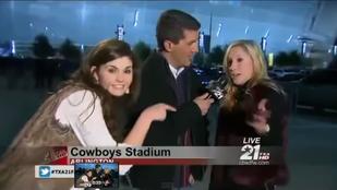 Nagyon hétvége: élő adásban kért füvet a tévéstől egy diáklány