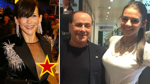 Sophie Marceau bimbójánál csak Sarka Kata Berlusconival közös fotója volt durvább