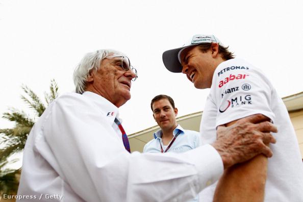 Ecclestone és Rosberg