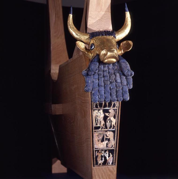 A Nagy líra a Penn Museumban (object B17694C)