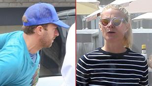Chris Martin és Gwyneth Paltrow együtt bulizott a hétvégén