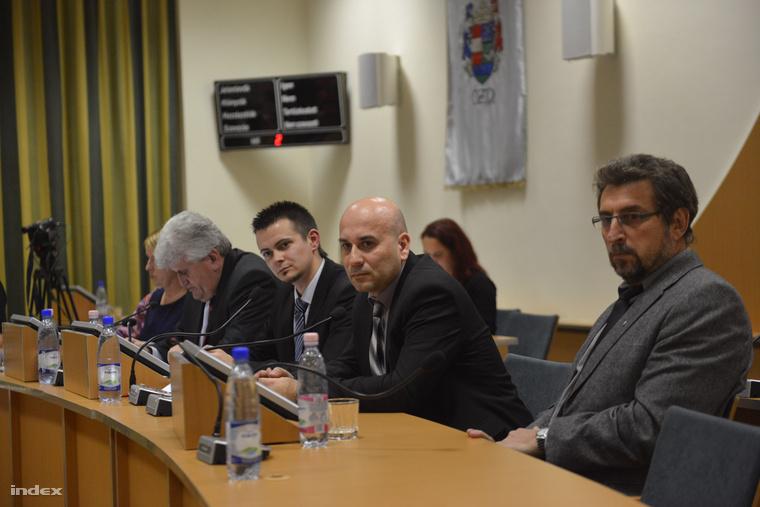 Janiczak Dávid, Ózd polgármestere a képviselő-testület 2014. decemberi alakuló ülésén