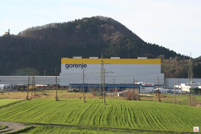 A Gorenje egyik velenjei gyárcsarnoka 2008-ban