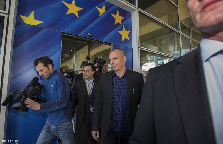 Jánisz Varufakisz görög pénzügyminiszter