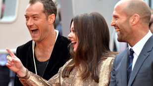 A nap kérdése: Vajon Jason Statham vagy Jude Law a jobb pasi
