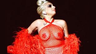 Lady Gaga villantására már tényleg nincsenek szavak