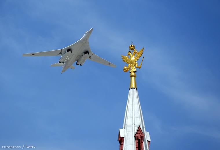TU-160-as a Győzelem Napján, Moszkvában