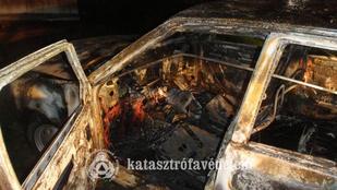 Gázpalack robbant az autóban, ennyi maradt belőle
