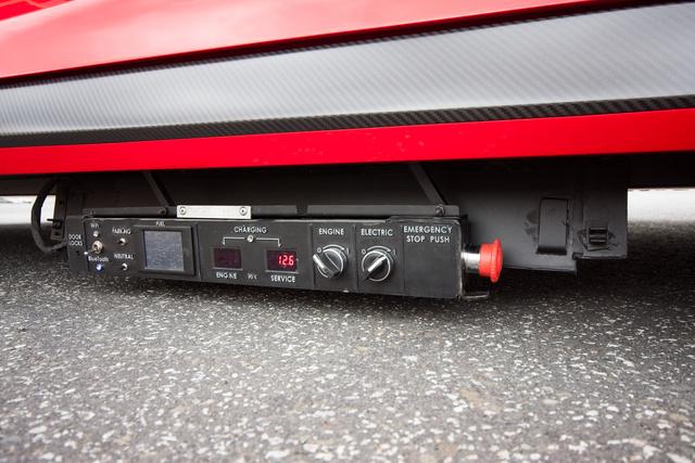Ez az indítópultja az autónak