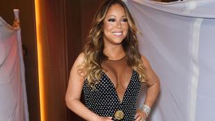 Mariah Carey ismét durva estélyiben jelent meg