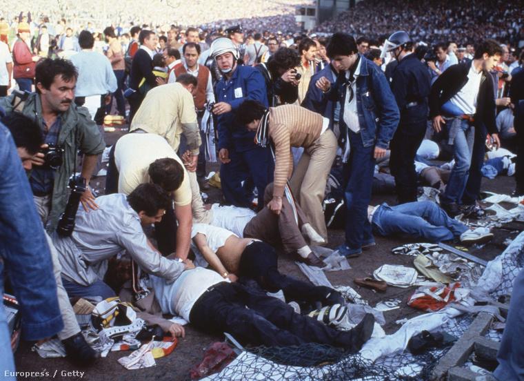 A Heysel-tragédia minden idők legsokkolóbb futballkatasztrófája lett, azért is, mert élőben közvetítették