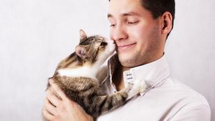Megnyalta a macskája, megvakult