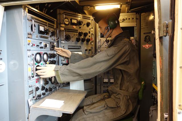 A Draken-tesztelő busz belseje. Alig pár éve vonták ki használatból