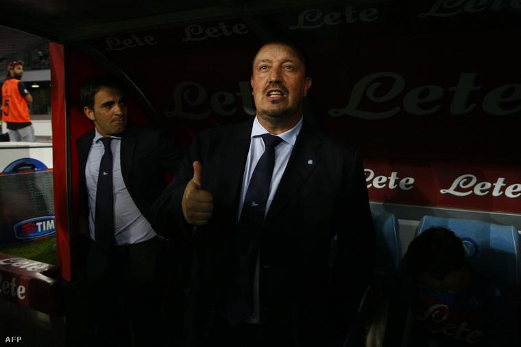 Rafael Benítez, aki a Napolitól már amúgy is távozóban volt